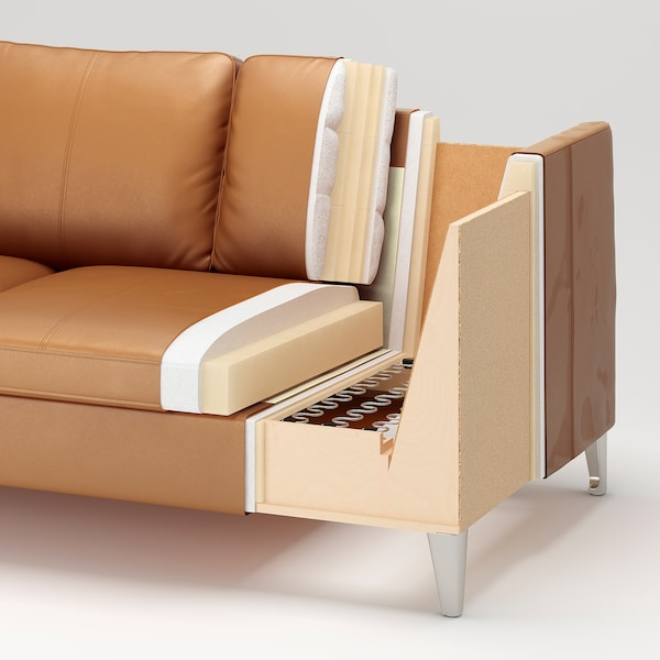 STOCKHOLM 3-sits soffa, Seglora natur