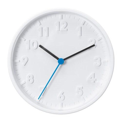 STOMMA Väggklocka IKEA Inga störande tickande ljud, eftersom klockan har ett tyst kvartsurverk.