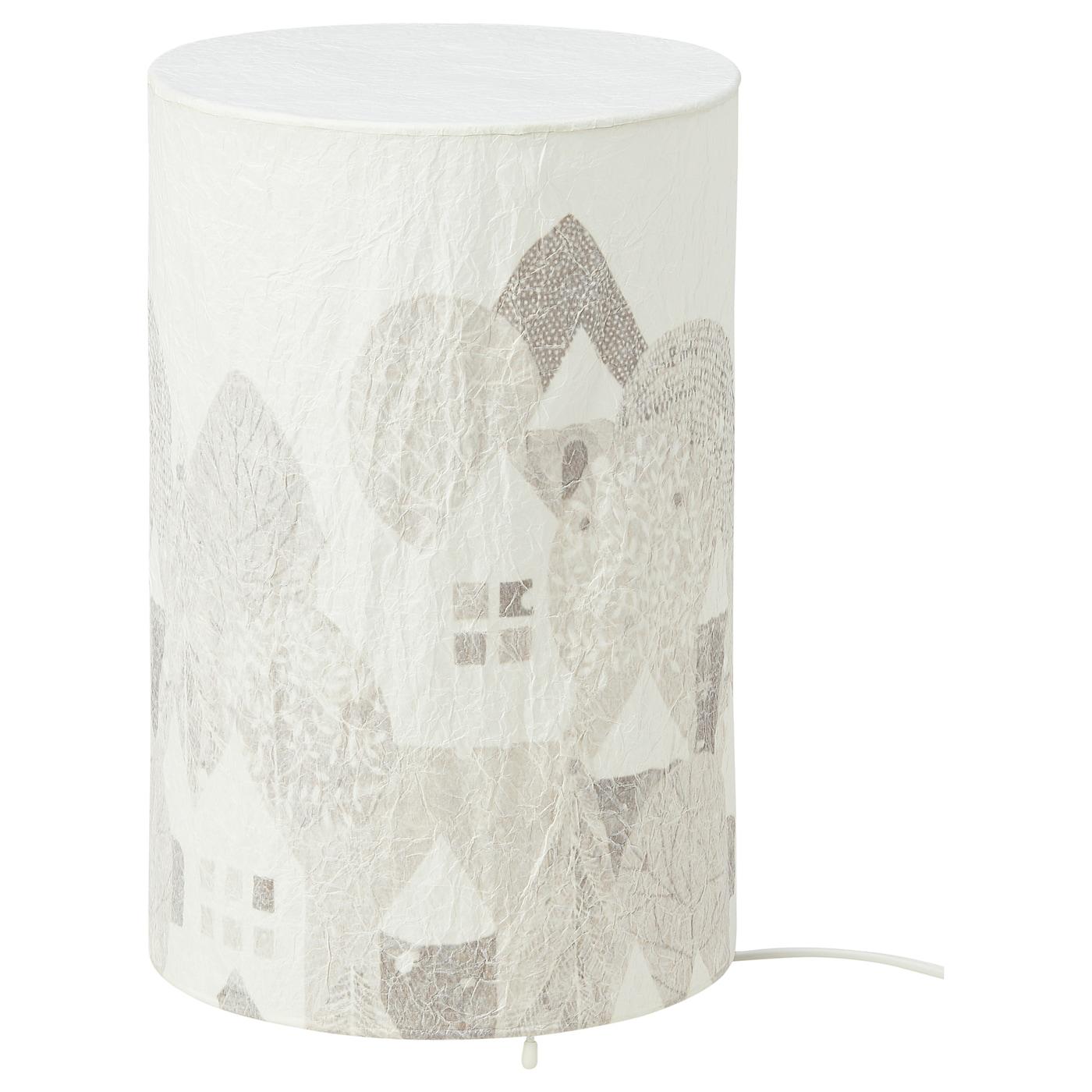 STRÅLA Bordslampfot, vit IKEA