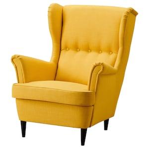Klädsel: Skiftebo gul.