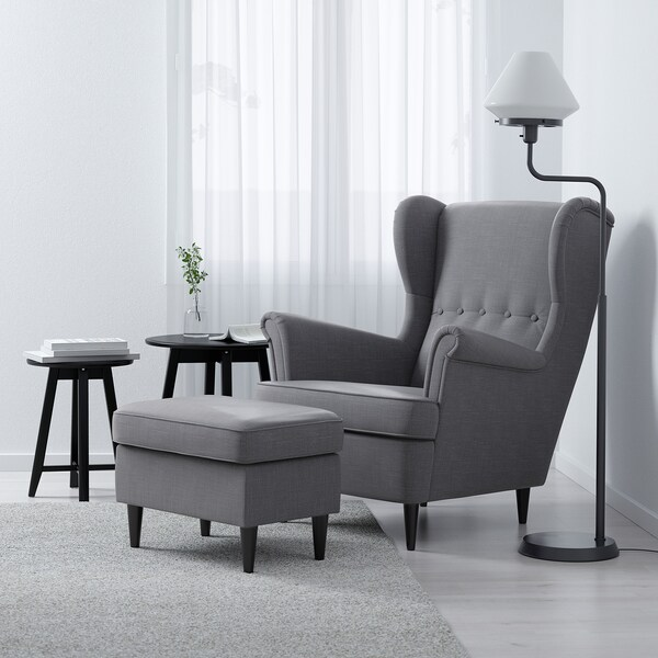 IKEA STRANDMON Öronlappsfåtölj