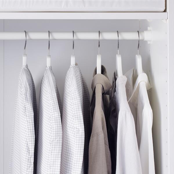 STUK Klädöverdrag set om 3, vit/grå