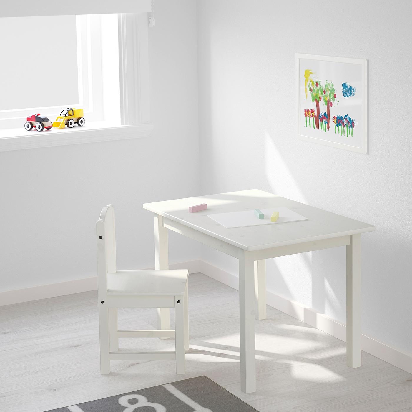 SUNDVIK Barnstol, vit IKEA