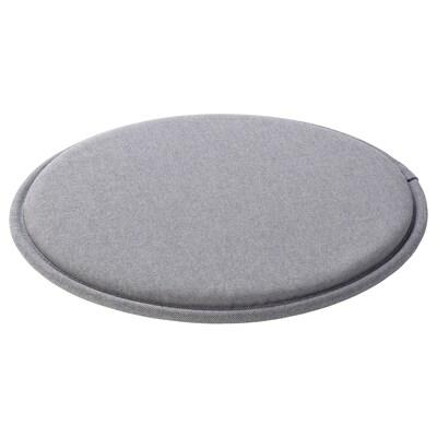 SUNNEA Stolsdyna, grå, 36x2.5 cm