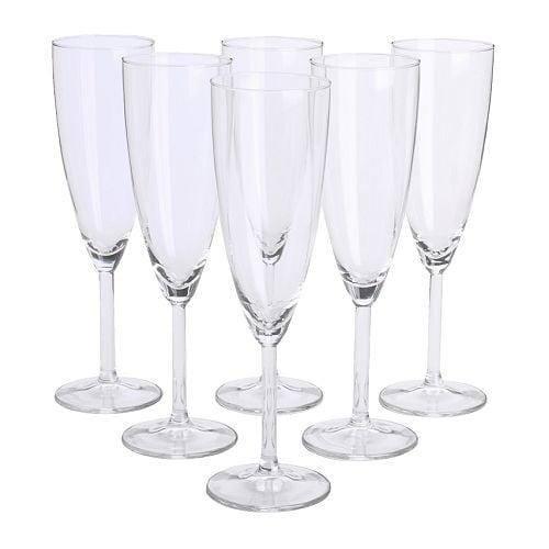 Svalka Champagneglas Ikea