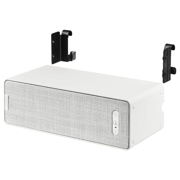 SYMFONISK / SYMFONISK wifi-högtalare med krok vit 10 cm 15 cm 31 cm