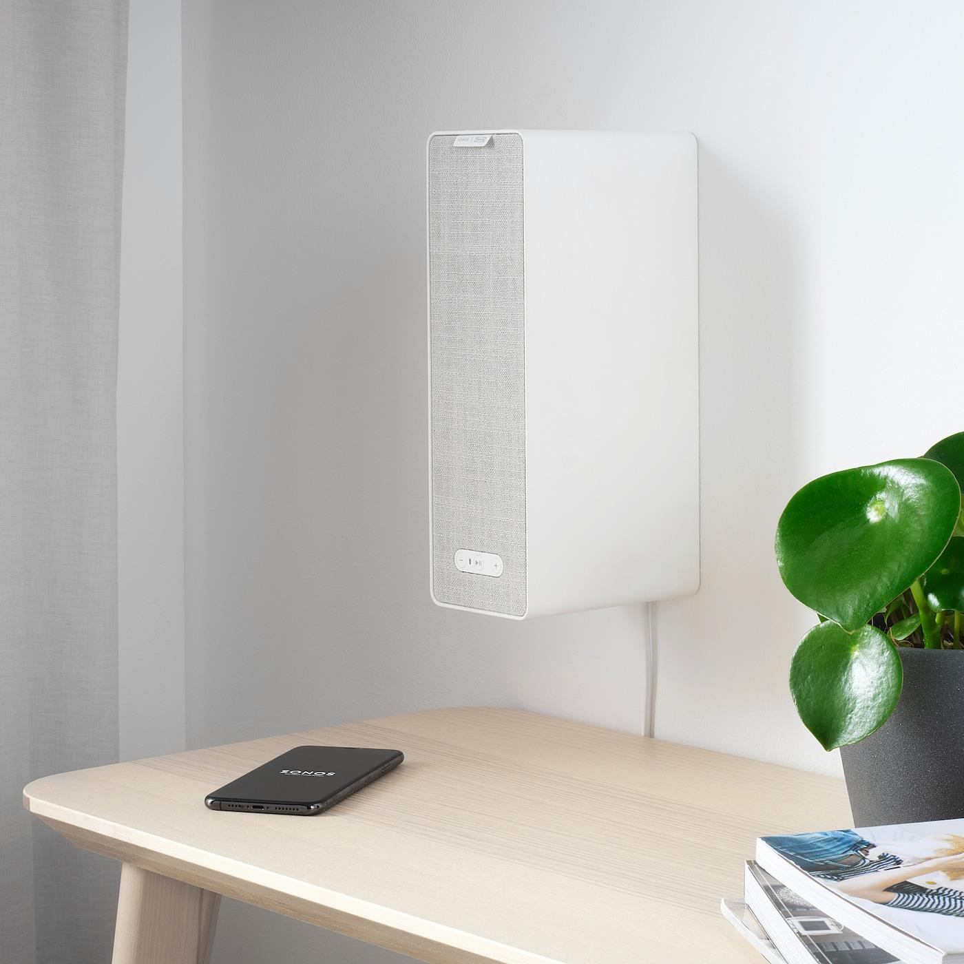 SYMFONISK Wifi-bokhyllehögtalare, vit