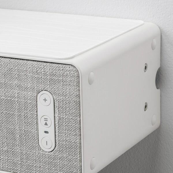 SYMFONISK / SYMFONISK Wifi-högtalare med väggfäste, vit, 31x10x15 cm