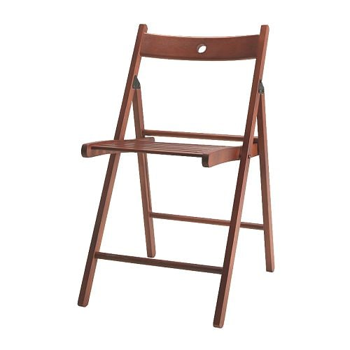 klappstol stolar stol ar , mellanbrun terje