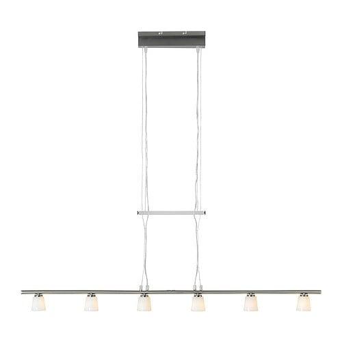 TIDIG Taklampa med 6 lampor IKEA