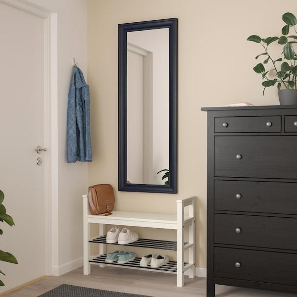 TOFTBYN Spegel, svart, 52x140 cm