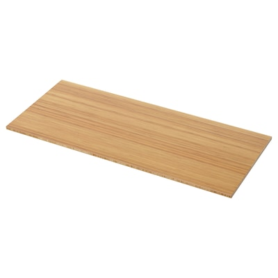 TOLKEN Bänkskiva, bambu, 122x49 cm