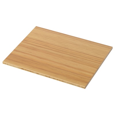 TOLKEN Bänkskiva, bambu, 62x49 cm