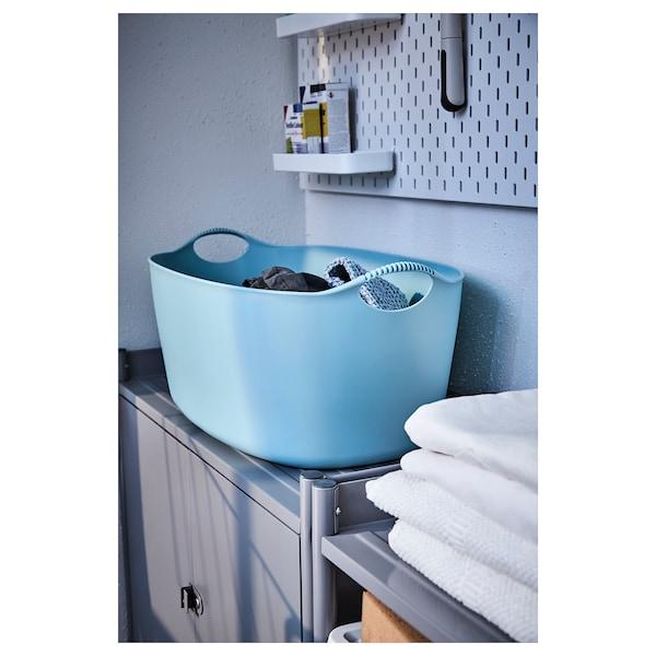 TORKIS Flexi tvättkorg, inom-/utomhus, blå, 35 l