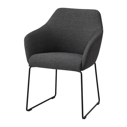 grå klädda stolar