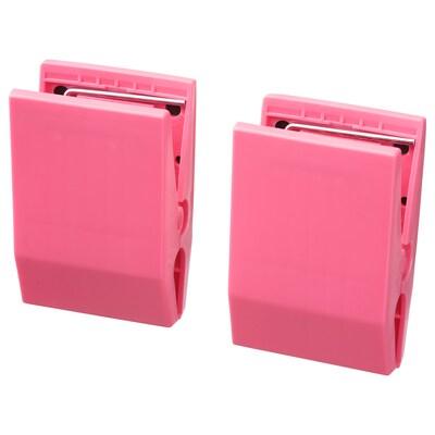 TOTEBO Pappersklämma med magnet, rosa