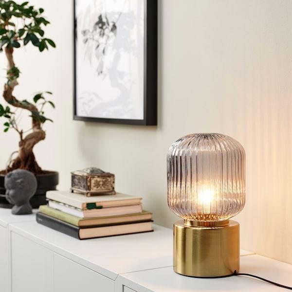 TRÅDFRI LED ljuskälla E27 250 lumen, trådlös dimbar varmvit/globformad klar