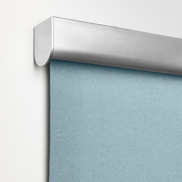 TRETUR Mörkläggande rullgardin, ljusblå, 120x195 cm