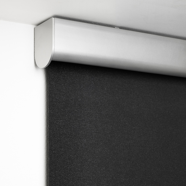 TRETUR Mörkläggande rullgardin, mörkgrå, 100x195 cm