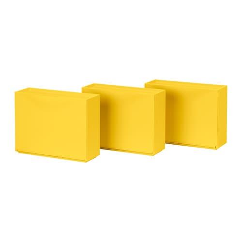 TRONES Skoskåp förvaring gul IKEA
