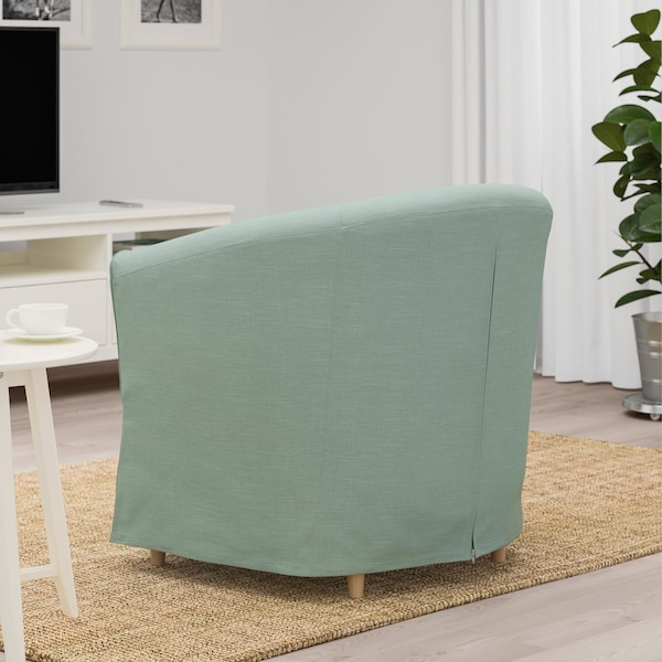 TULLSTA Fåtölj, Nordvalla ljusgrön IKEA