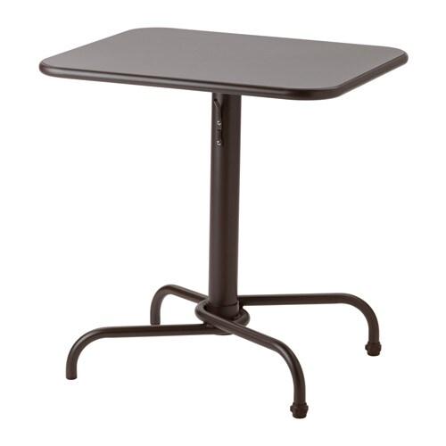 Tunholmen bord utomhus m rkbrun ikea - Ikea mesas exterior ...