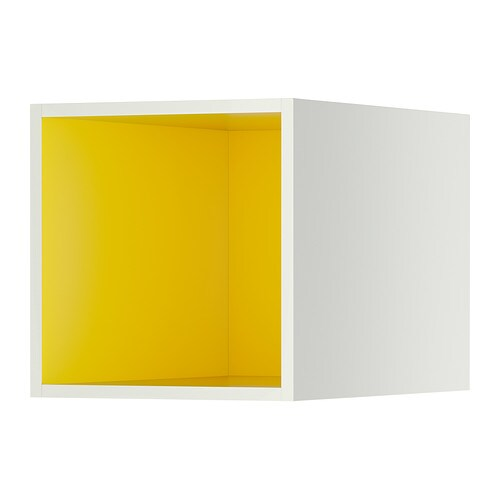 ikea skåp vägg ~ tutemo Öppet skåp  vitgul, 40x60x40 cm  ikea