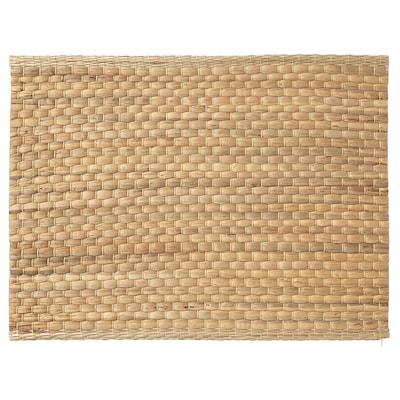 UNDERLAG Tablett, vattenhyacint/natur, 35x45 cm
