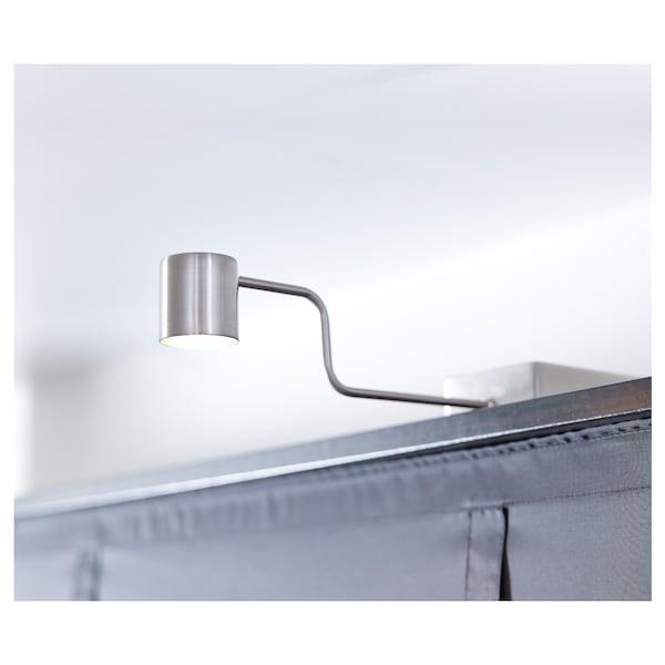 URSHULT LED skåpbelysning, förnicklad