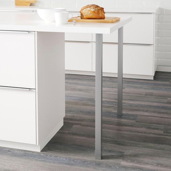 UTBY ben rostfritt stål 86.2 cm