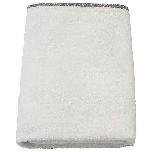 VÄDRA Överdrag till skötbädd, vit, 48x74 cm