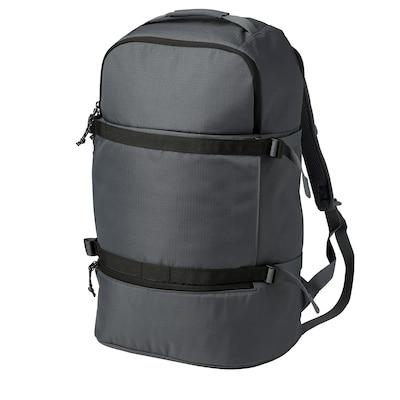 VÄRLDENS Ryggsäck, mörkgrå, 36 l