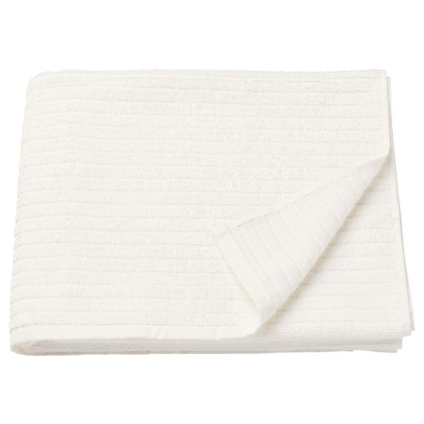 VÅGSJÖN Badhandduk, vit, 70x140 cm
