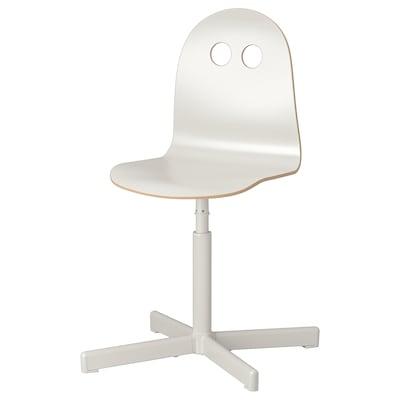VALFRED / SIBBEN skrivbordsstol för barn vit 110 kg 56 cm 56 cm 78 cm 34 cm 34 cm 35 cm 45 cm