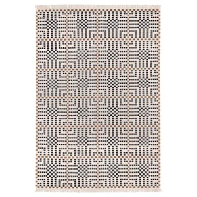 VAMDRUP Matta, slätvävd, handgjord/flerfärgad, 170x240 cm
