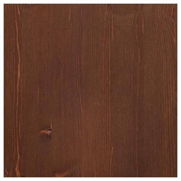 VÅRDA Trälasyr för utomhusbruk, brun