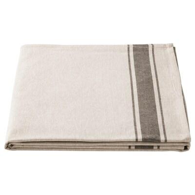 VARDAGEN Duk, beige, 145x240 cm