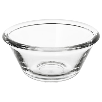 VARDAGEN Skål, klarglas, 12 cm