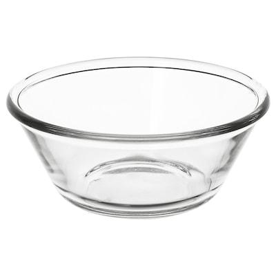 VARDAGEN Skål, klarglas, 15 cm