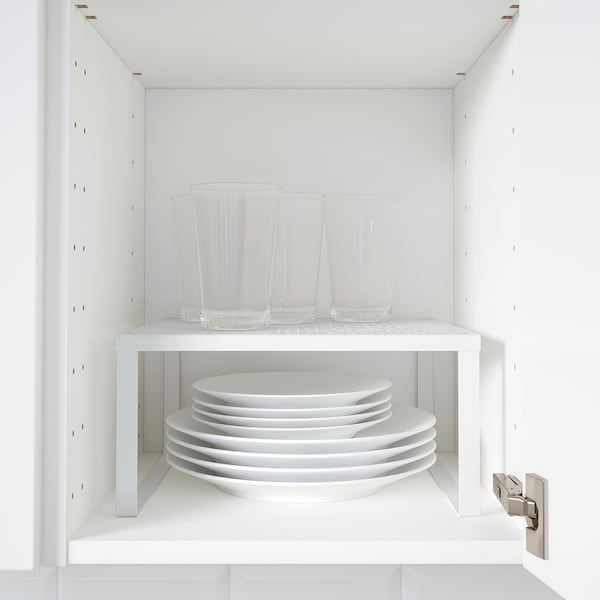 VARIERA Hyllinsats, vit, 32x28x16 cm