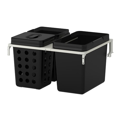 Variera utrusta k llsortering f r sk p ikea for Ikea pattumiera