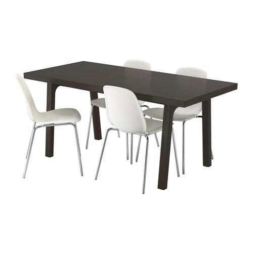 Västanby Västanå Leifarne Bord Och 4 Stolar Ikea