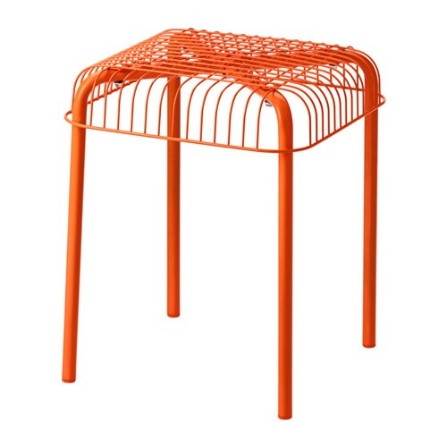 V 196 Ster 214 N Pall Inom Utomhus Orange Ikea