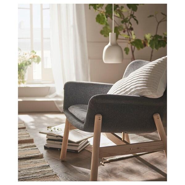 VEDBO Fåtölj, Gunnared mörkgrå IKEA