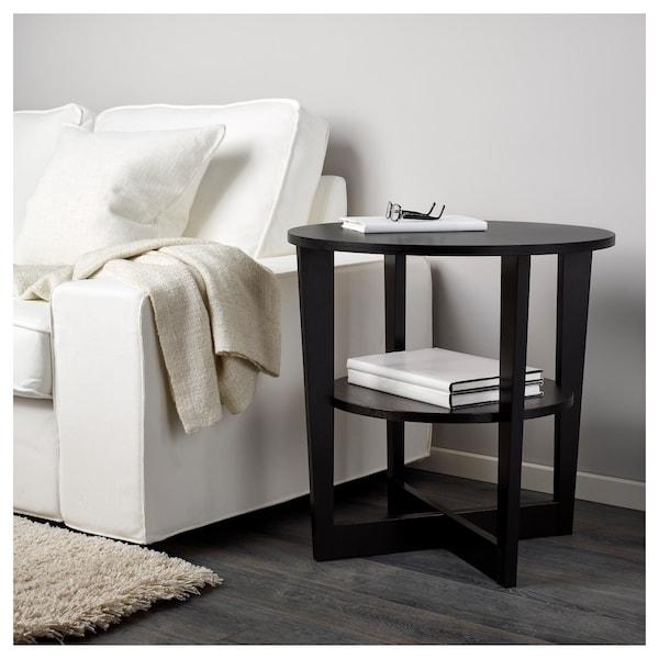 VEJMON sidobord svartbrun 60 cm 60 cm