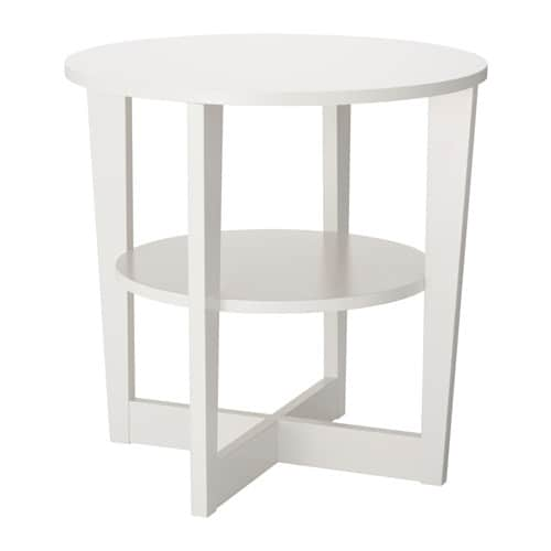 Vejmon sidobord vit ikea - Ikea mesa lack blanca ...