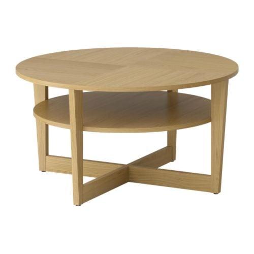 VEJMON Soffbord IKEA Separat hylla för förvaring av t.ex. tidningar; håller ordning på dina saker och frigör bordsyta.