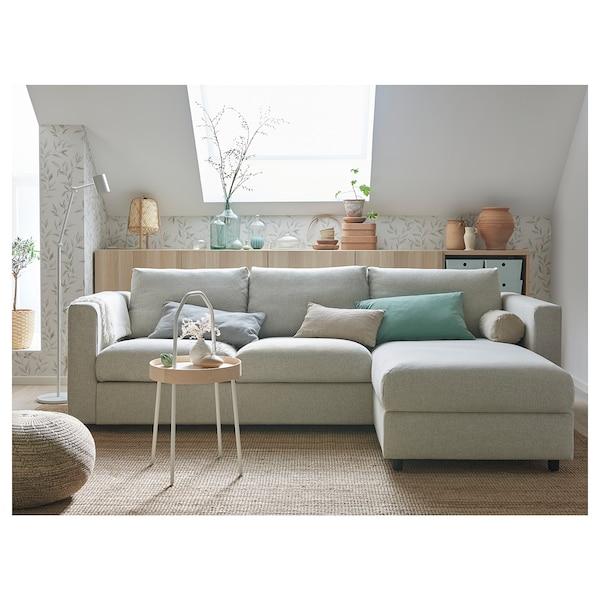 VIMLE 3 sitssoffa, med schäslongGunnared beige IKEA