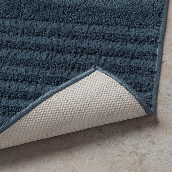 VINNFAR Badrumsmatta, mörkblå, 40x60 cm