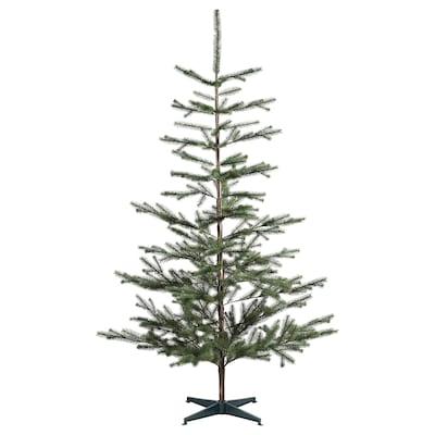 VINTER 2020 Konstgjord växt, inom-/utomhus/julgran grön, 205 cm
